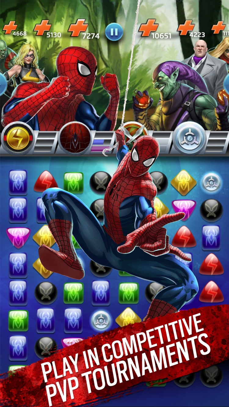 Marvel Puzzle Quest (Video Game) - TV Tropes