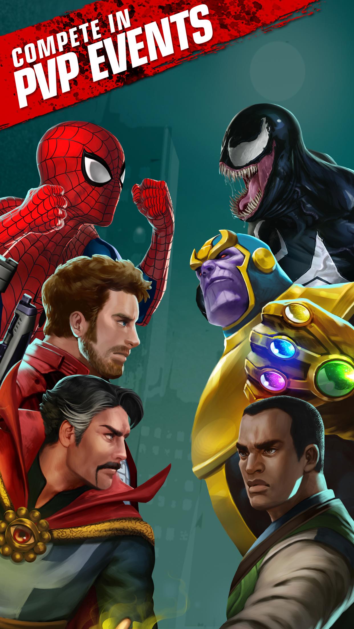 Marvel Puzzle Quest - D3 Go!