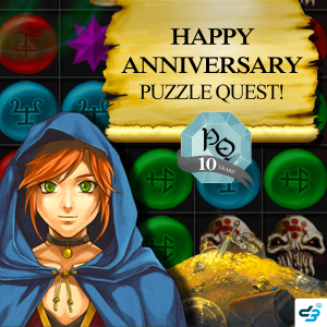 Puzzle Quest 10 Year Anniversary