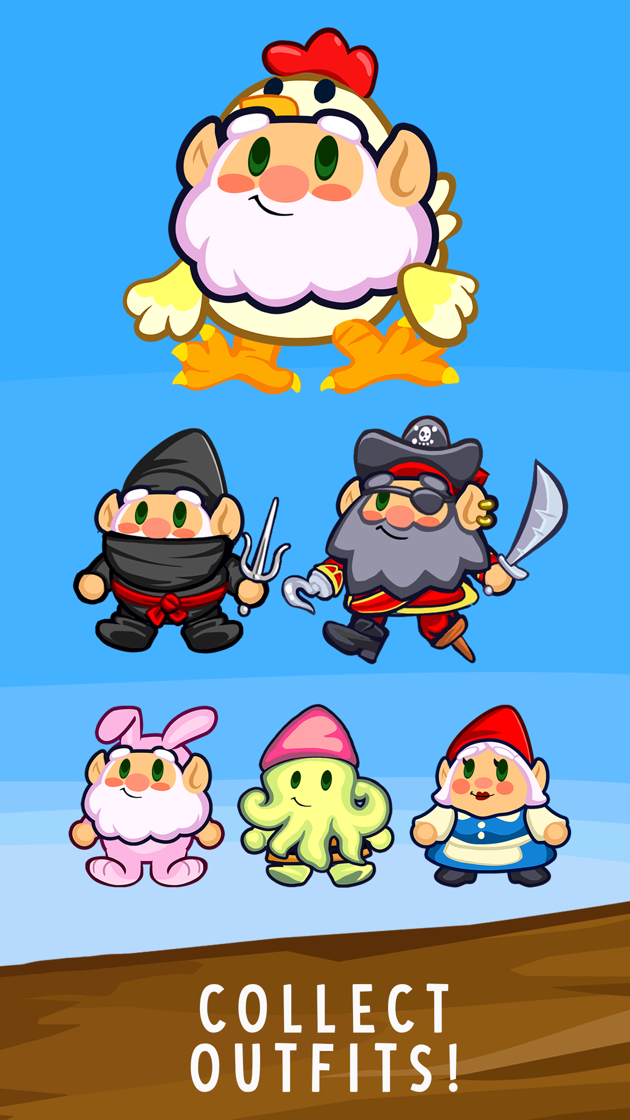 Adventure Gnome Game Available on the App Store and Google Play!